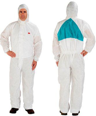 3M 4520 PROTECTIVE COVERALL - 4520W