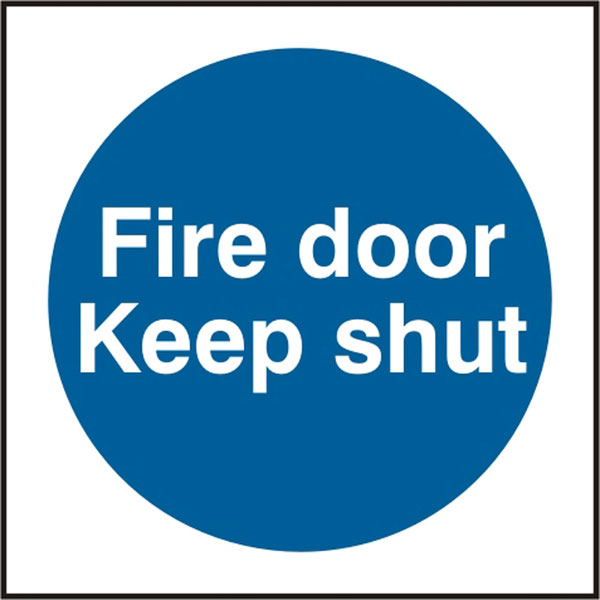 FIRE DOOR KEEP SHUT SIGN - BSS11325