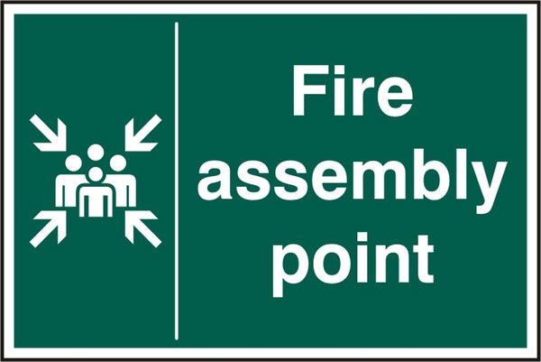 FIRE ASSEMBLY POINT SIGN - BSS12029