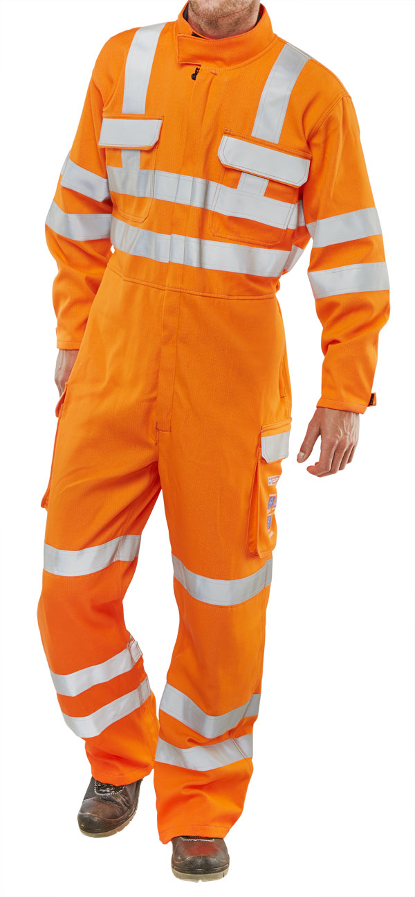 ORANGE ARC COMPLIANT RIS COVERALL - CARC153OR