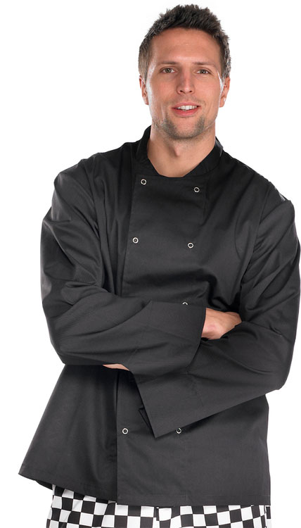 CHEFS JACKET LONG SLEEVE - CCCJLSBL