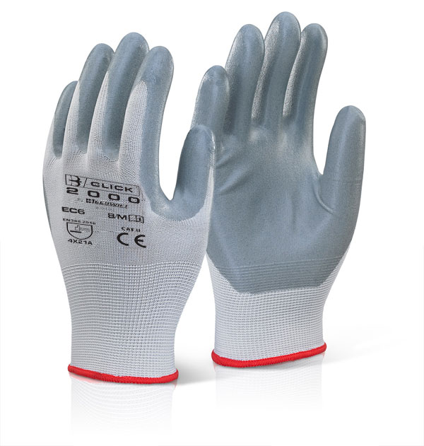 NITRILE FOAM POLYESTER GLOVE - EC6NGY