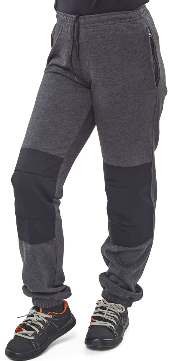 GREY FLEECE JOGGING BOTTOM - FLJBCGY