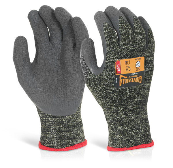 GLOVEZILLA LATEX PALM COATED GLOVE - GZ09G