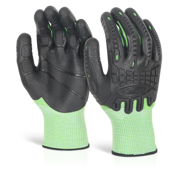 CUT RESISTANT FULLY COATED IMPACT GLOVE - GZ62G