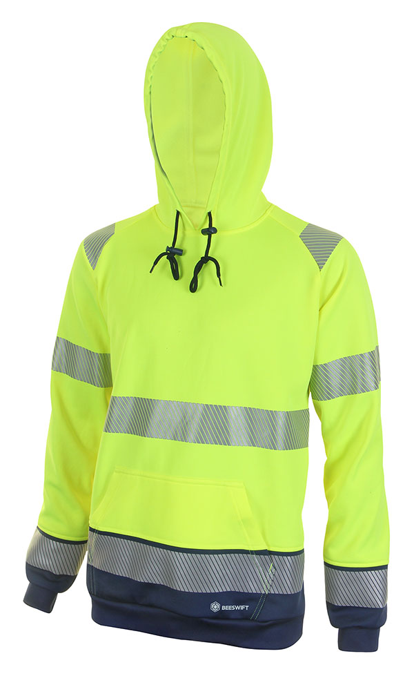HIVIS TWO TONE HOODY - HVTT025SYN