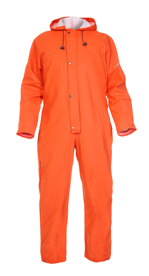 SALESBURY HYDROSOFT WATERPROOF COVERALL - HYD018500OR