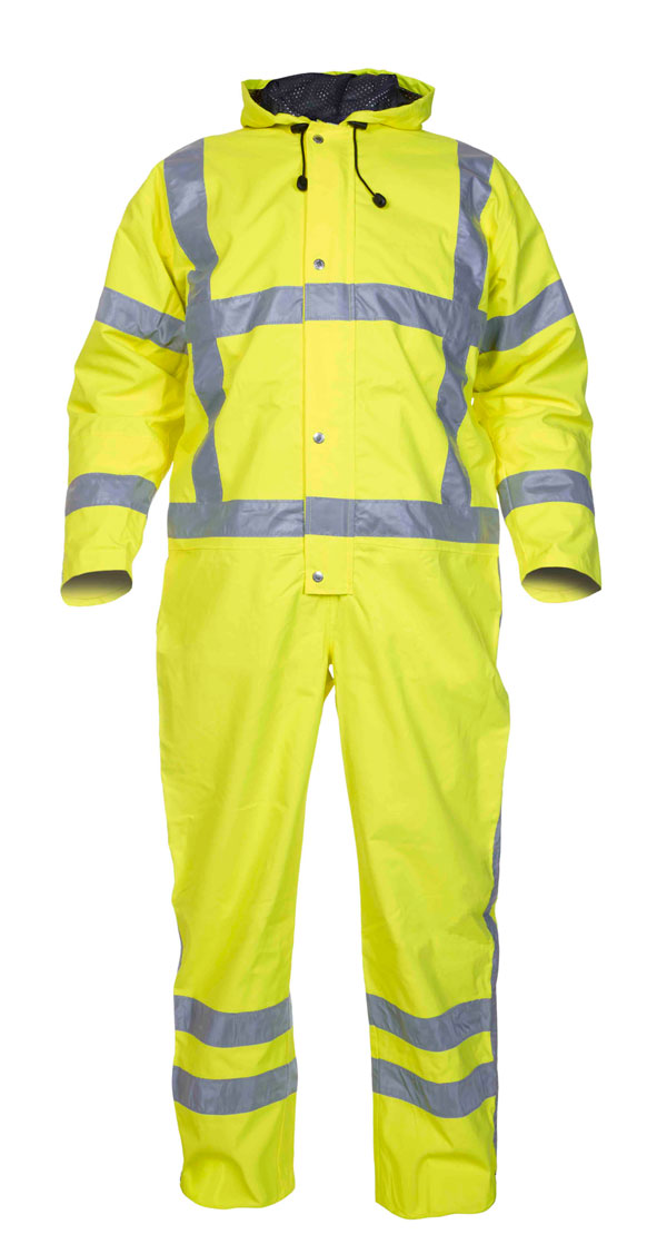 URETERP SNS HIGH VISIBILITY WATERPROOF COVERALL - HYD072380SY