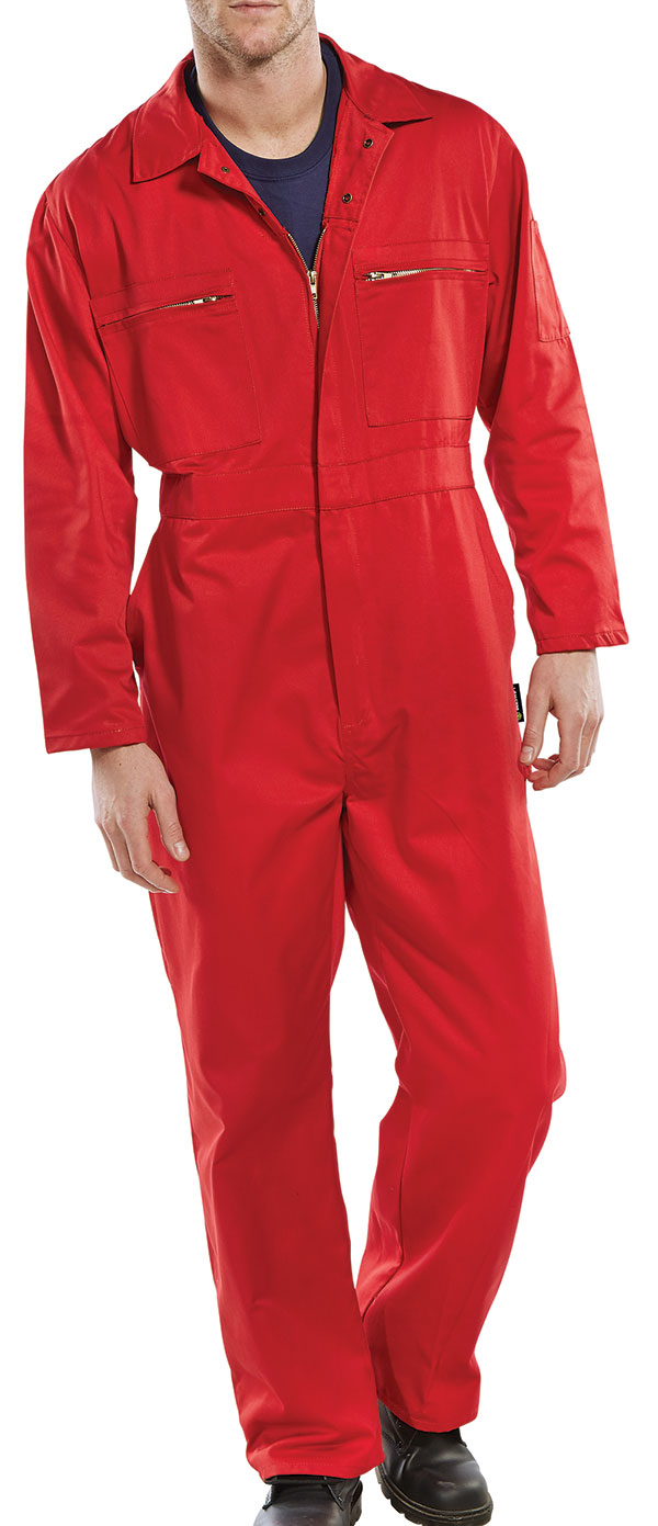 SUPER CLICK HEAVY WEIGHT BOILERSUIT - PCBSHWRE