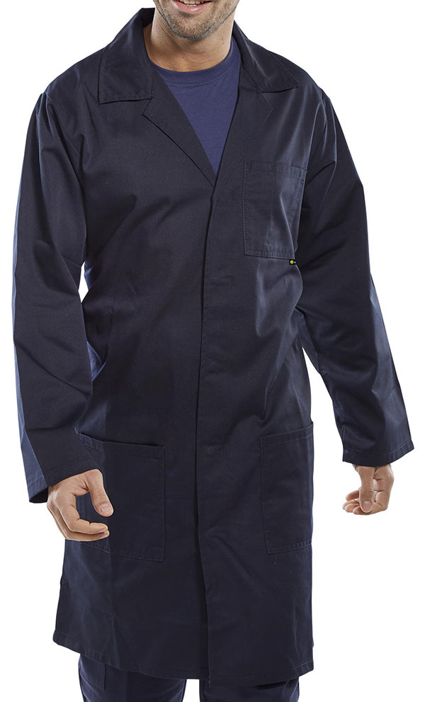 POLY COTTON WAREHOUSE COAT - PCWC